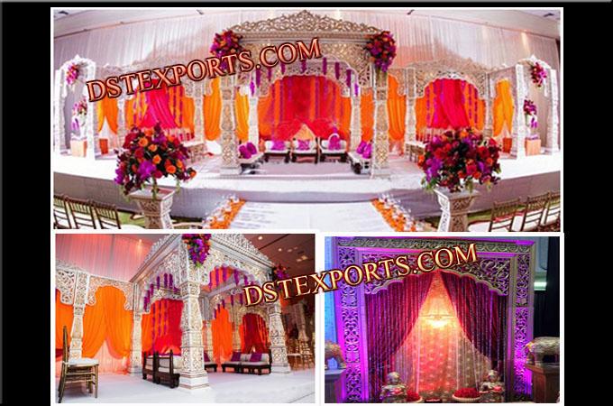Decorative bollywood wedding mandap junglespirit Gallery