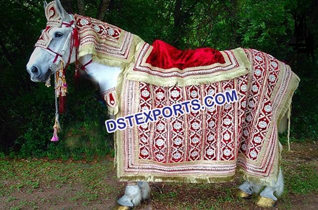 Indian Wedding Horse Decoration