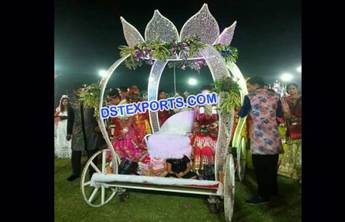 Bridal Entry Crystal Cinderella Carriage