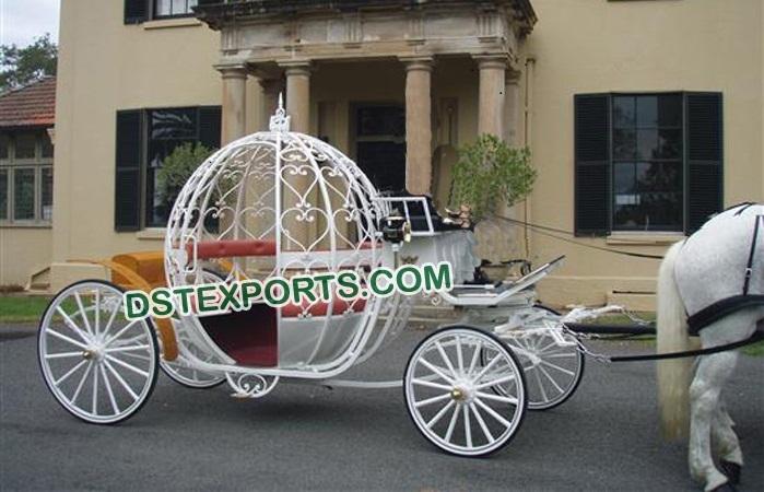 Beauty Queen Wedding Cinderella Buggy