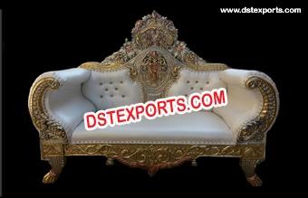 Indian Wedding Maharaja Sofa Couch