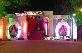 Indian wedding mandaps manufacturer wedding stages manufacturer wedding decor entrance gate junglespirit Image collections