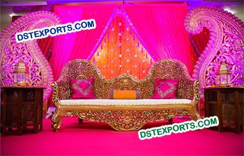 Indian Wedding Mehandi Stage Sofa