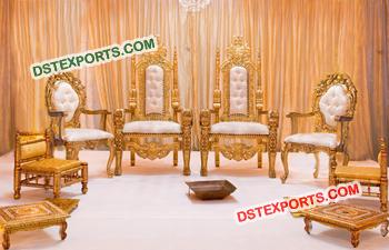 Royal Indian Wedding Mandap Chair