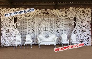 Indian wedding mandaps manufacturer wedding stages manufacturer stylish indian wedding stage backdrop junglespirit Gallery