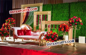 Indian wedding mandaps manufacturer wedding stages manufacturer wedding decoration stage frames junglespirit Gallery
