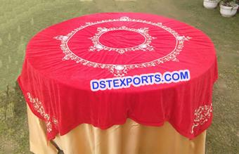 Embroidered Designer Wedding Table Cloth